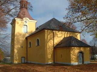 kostel sv. Filipa a Jakuba Lhota pod Radčem