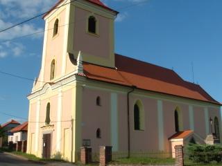 kostel sv. Jakuba Staršího Drahoňův Újezd
