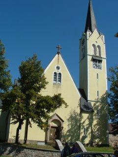 kostel sv. Vavřince Stupno