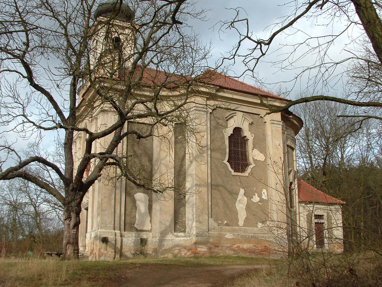 kostel Navštivěni Panny Marie / Kalvarie / Radnice