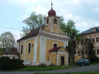 kostel sv. Jana Nepomuckého Liblín