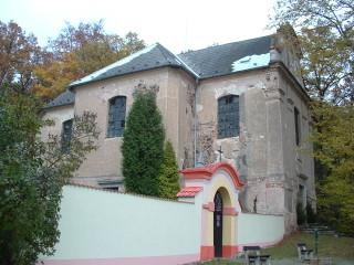 kostel sv. Petra a Pavla v Líšné