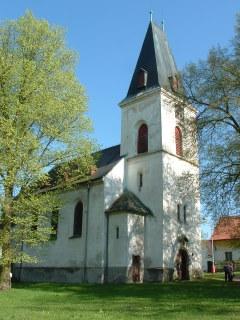 kostel Nejsvětější Trojice Mlečice