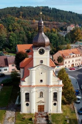 kostel sv. Václava Radnice