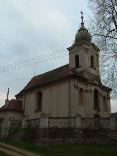 kostel Povýšení sv. Kříže Újezd u sv. Kříže